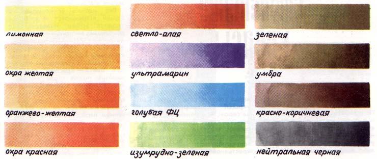 Как из акварели сделать серый цвет
