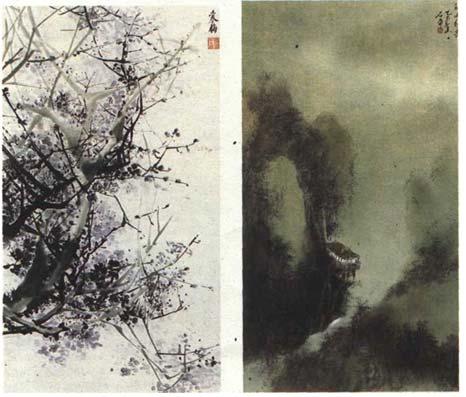 Китайская живопись: rosdesign.com/design_materials3/yapan2.htm