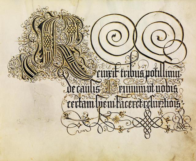 Доклад на тему каллиграфия 1642